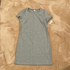 NWT gray jersey dress